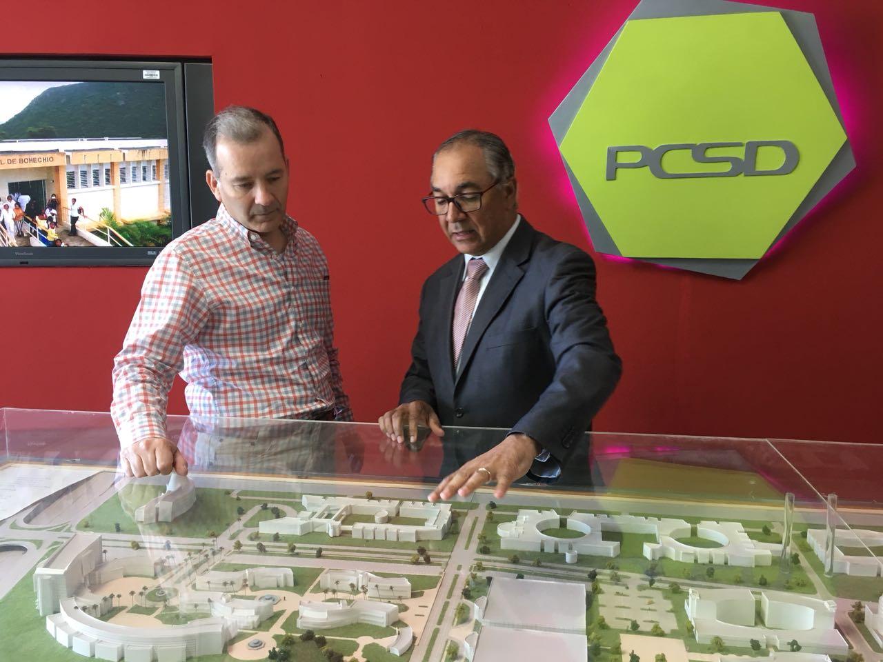 Visita Representante del BID al PCSD 1